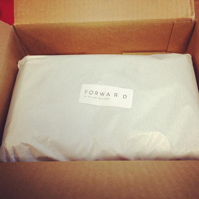 FWRD by Elyse Walker package wrapping