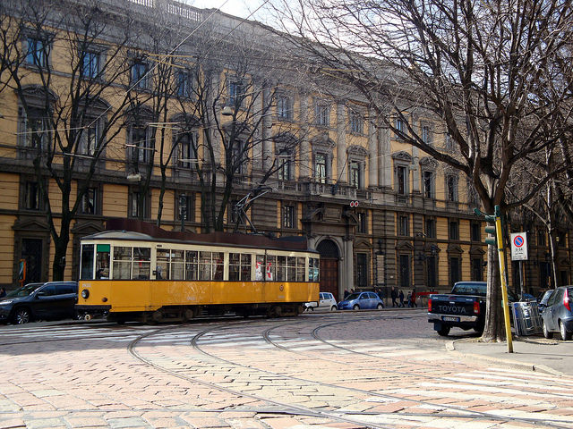 Tram milanese by Clara Bonetti on Flickr