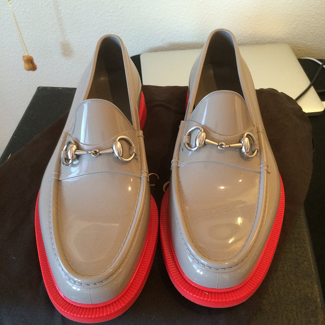 Gucci rubber horsebit loafer galoshes - $75 OBO