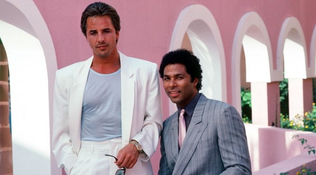 Crockett & Tubbs on Miami Vice