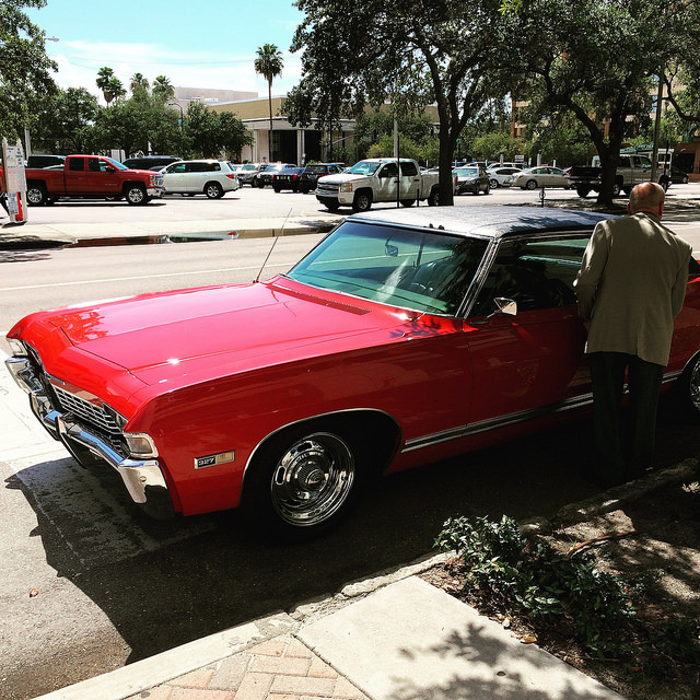 My boss Ray's 1968 Chevy Caprice
