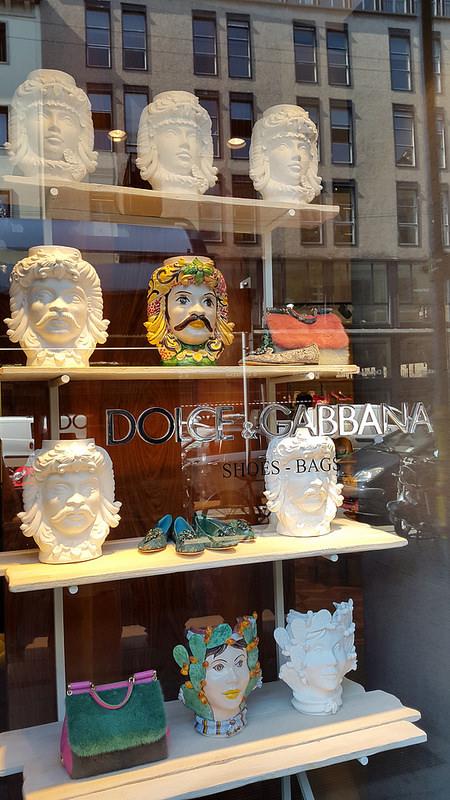 Dolce & Gabbana on Corso Venezia