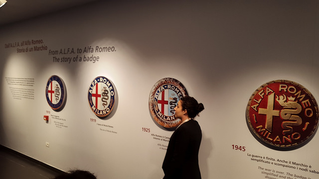 Evolution of Alfa Romeo's badge