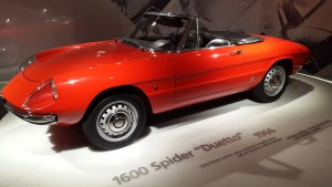 Alfa Romeo Duetto, aka Spider, the car from The Graduate that Dustin Hoffman drove