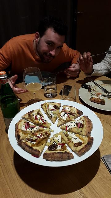 Vegan pizza that was also delightful