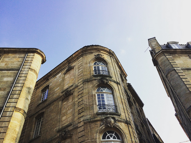 Old city Bordeaux