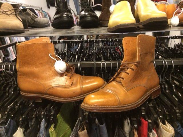 Men's boots at Bivio Milano
