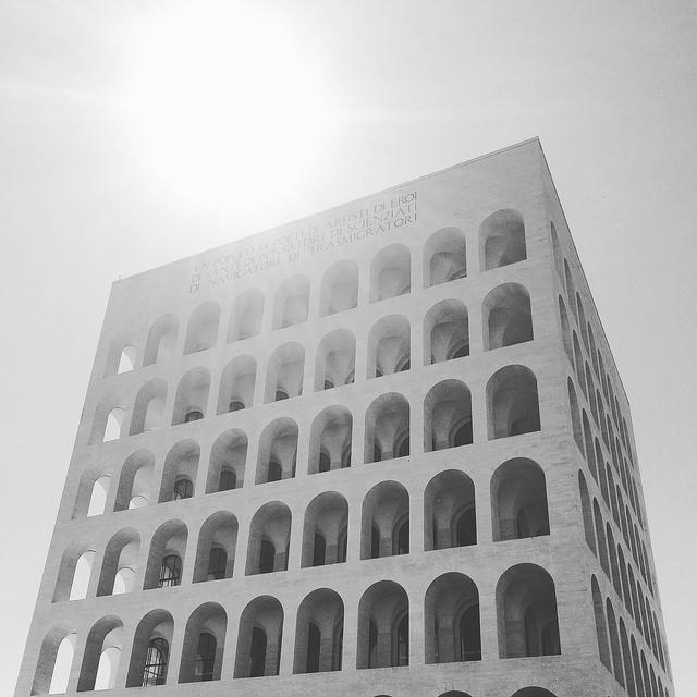 Palazzo della Civilta, aka Fendi Headquarters