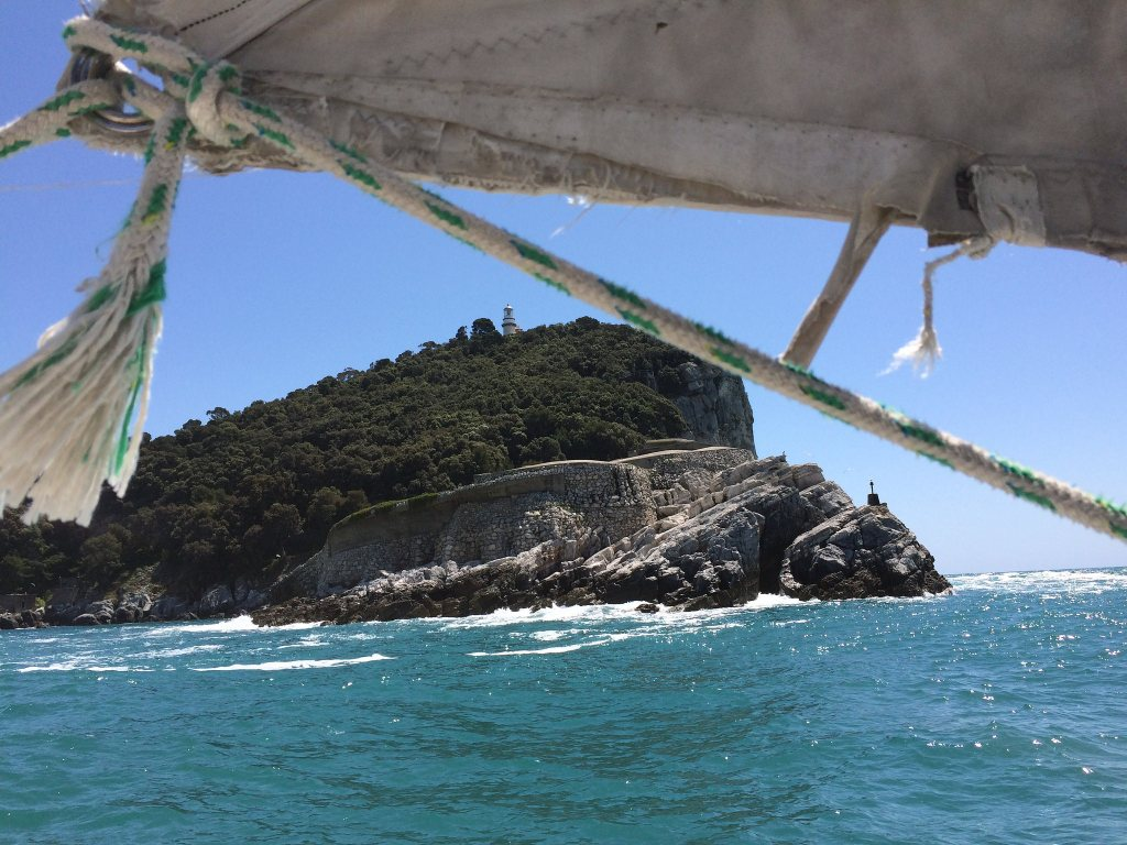Sailing in Lerici in May