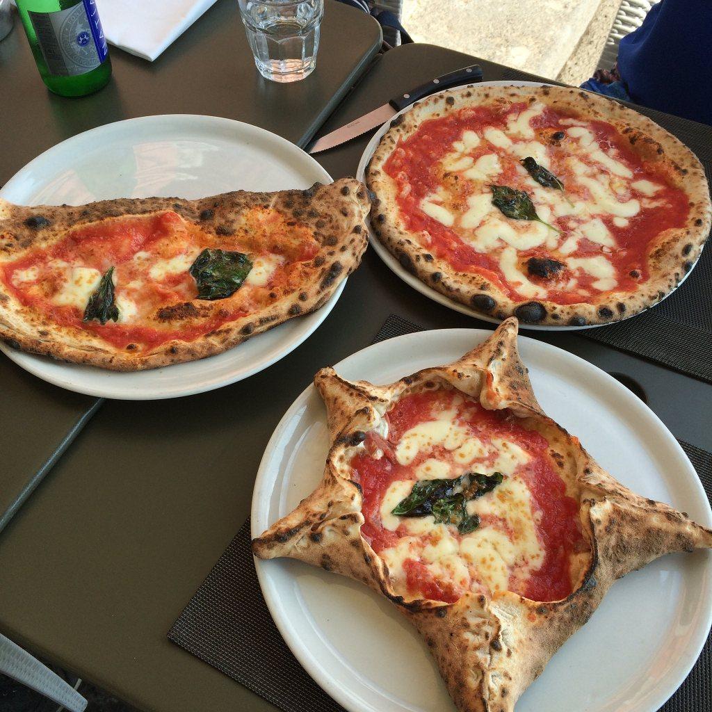 Plenty of pizza at Stella on Via Partenope