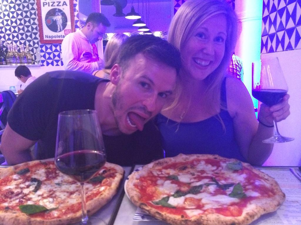 Pizza at Sorbillo