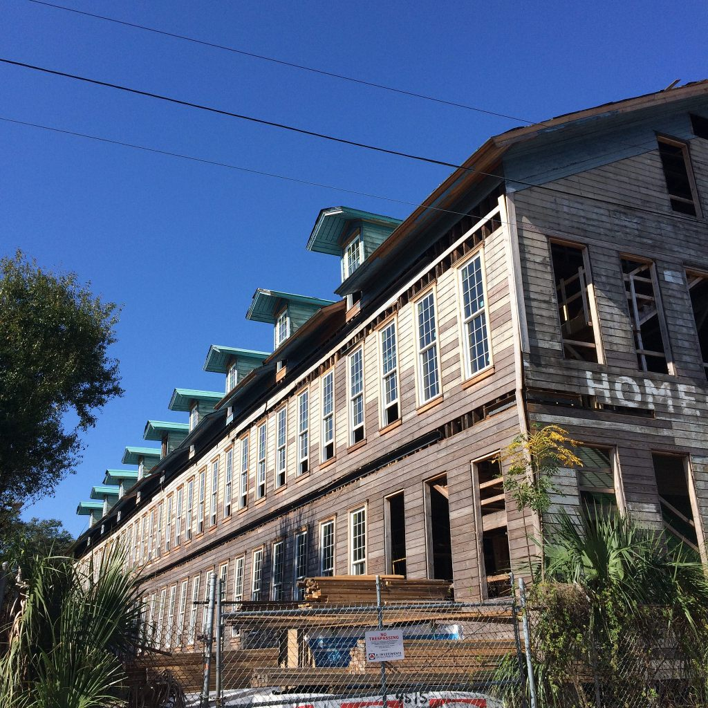 Future lofts on Palm Avenue in Ybor City