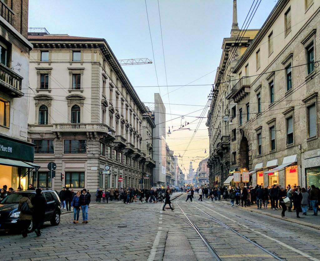 Via Orefici Milano