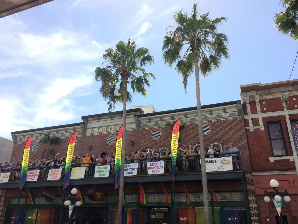 Tampa Pride 2017 in Ybor City