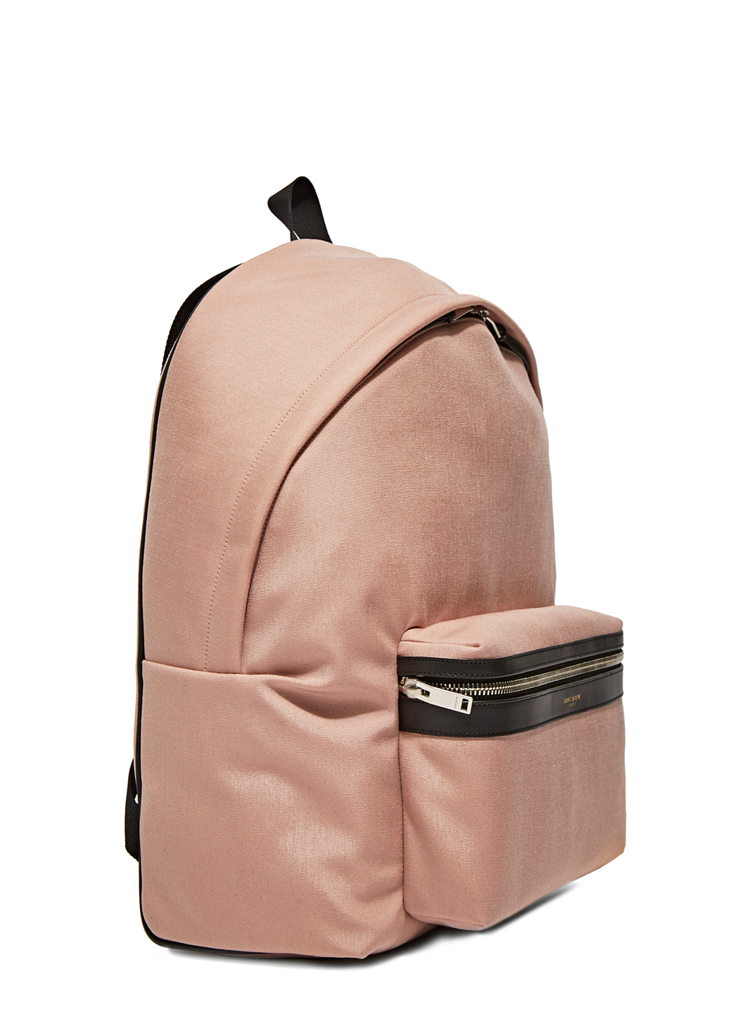 Saint Laurent SS16 Hunt Backpack in dusty pink