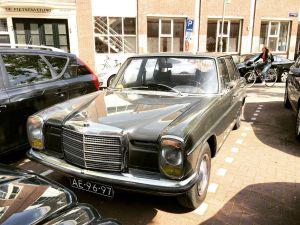 Mercedes W114 sedan in gray
