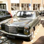 Mercedes W114 sedan in gray