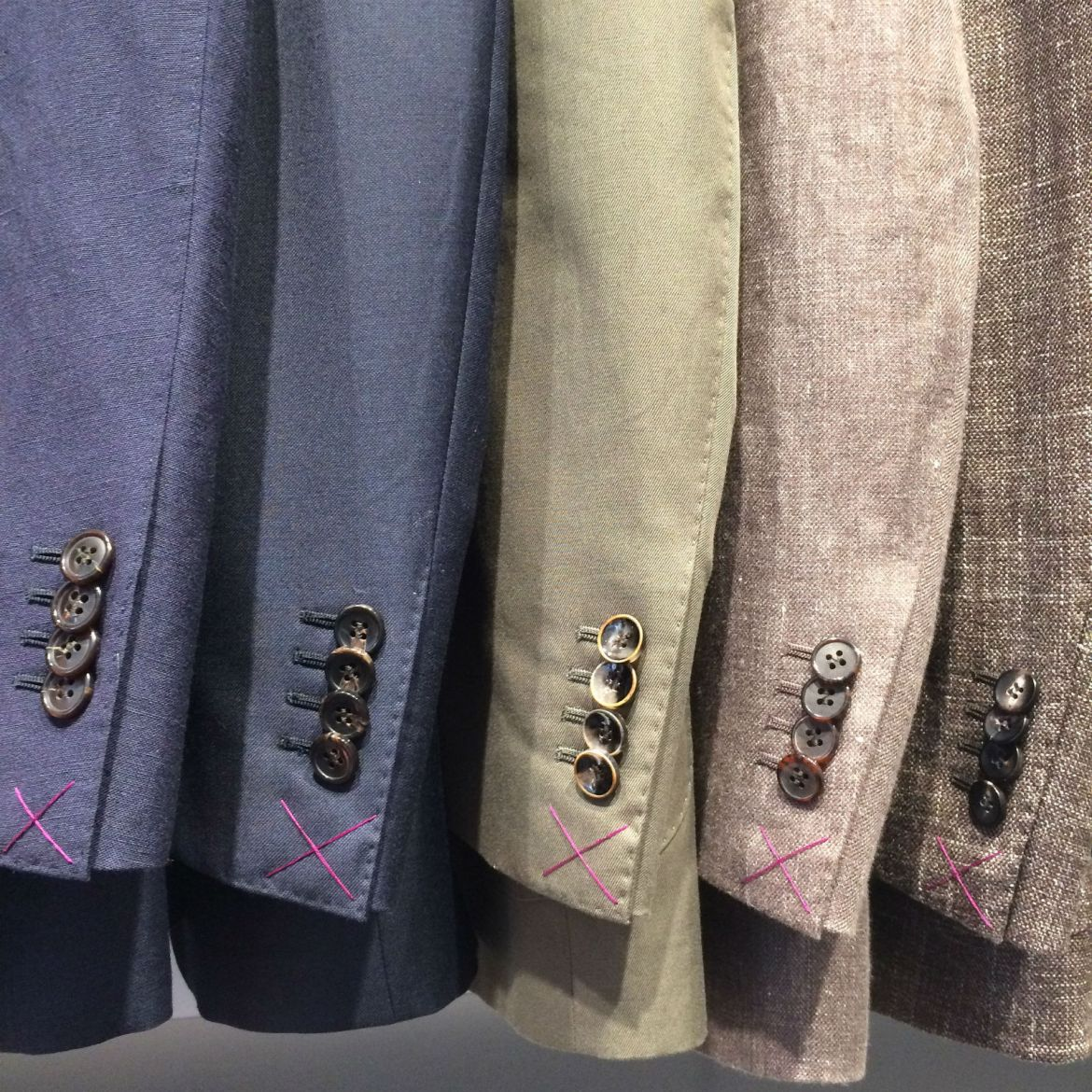 Italian, American, and Irish fabric suits at Suitsupply