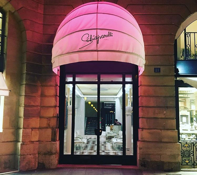 Schiaparelli Paris storefront at 21 Place Vendôme, credit to John William Barger, III