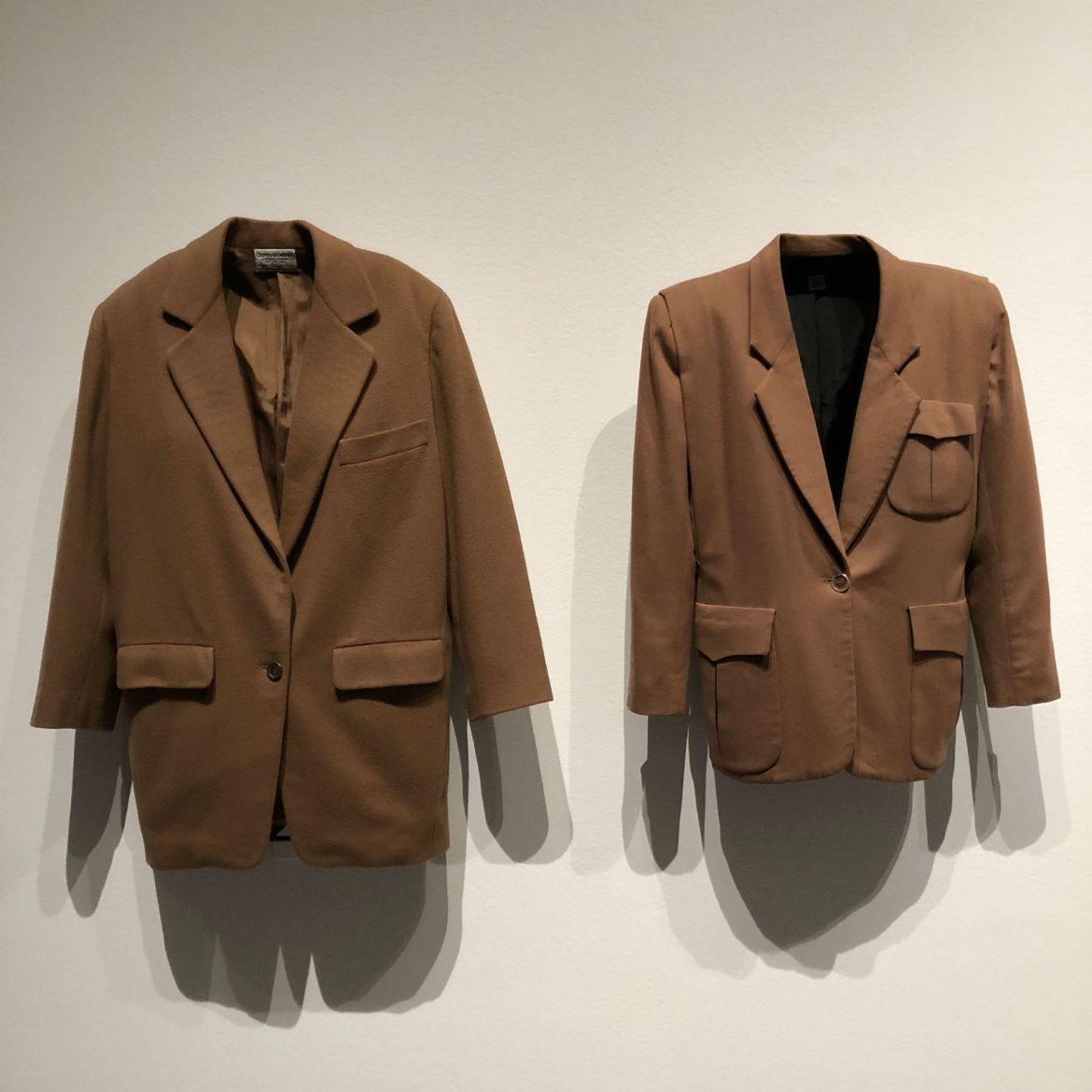 Donna Karan suiting at MoMA's Items: Is Fashion Modern?