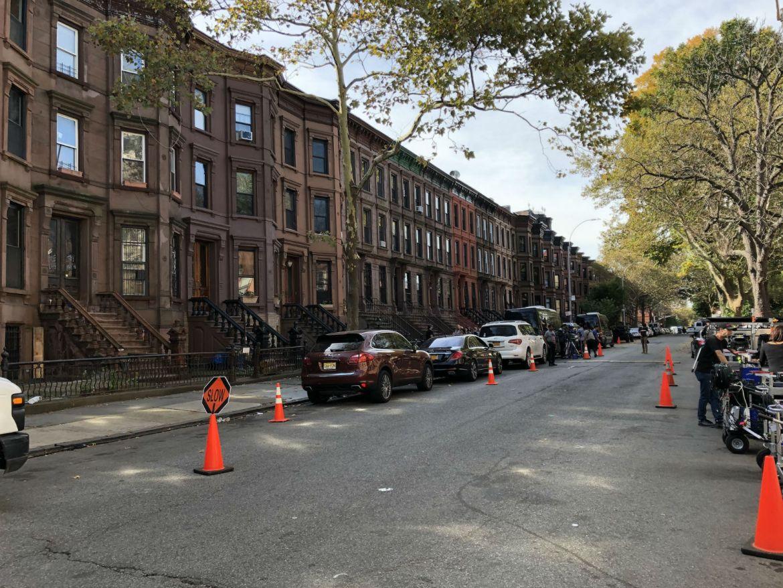 Brownstones of Bed-Stuy in Brooklyn