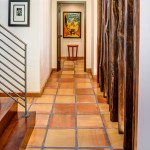 2919 West Alline by ROJO Architecture, hallway to master suite