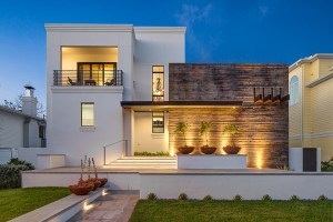 2919 West Alline by ROJO Architecture, in the style of Luis Barragán