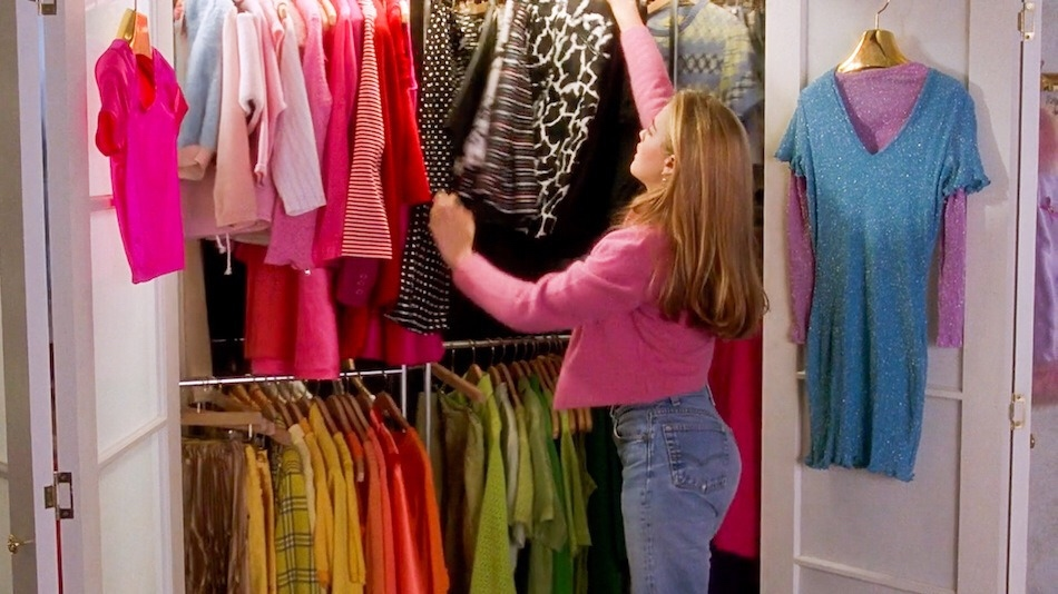 I dreamed about Cher's automated closet when I first saw Clueless in 1995