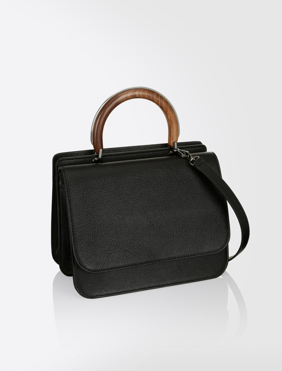 MaxMara wooden top-handle bag