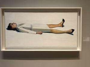 Supine Woman by Wayne Thiebaud
