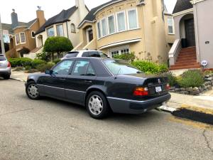 W124 Mercedes 500E in San Francisco