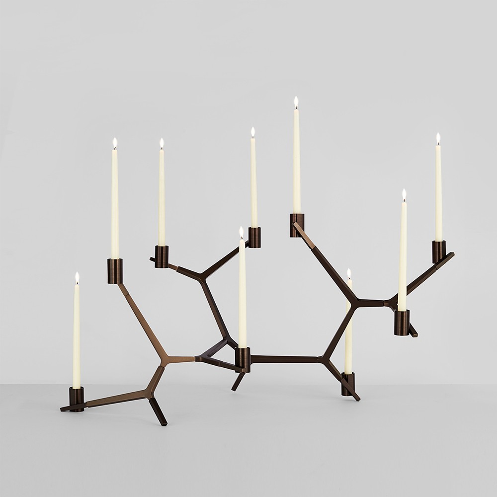 Agnes Candelabra by Lindsay Adelman for Roll & Hill at The Future Perfect