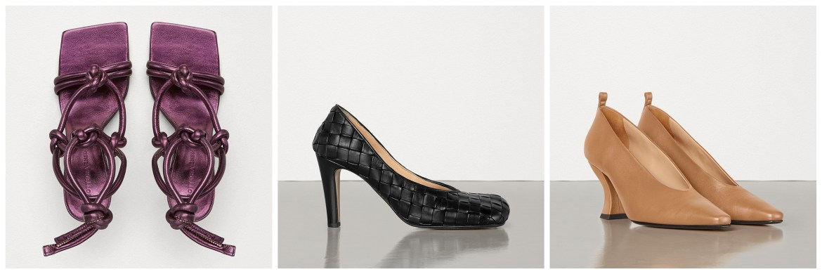 New Bottega Veneta womens shoes by Daniel Lee