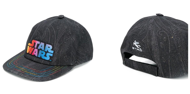 Fashion baseball caps: Etro Star Wars capsule collection baseball cap