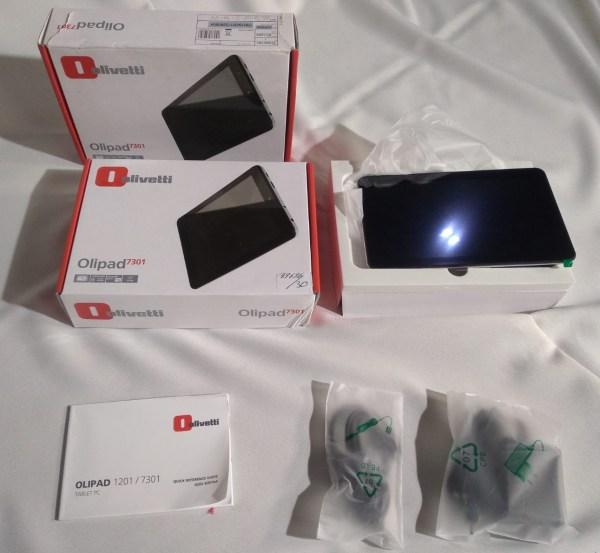 Subasta de tablet nueva en su caja