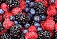 aliements santé baies et fruits a coques pour fibres et antioxydants