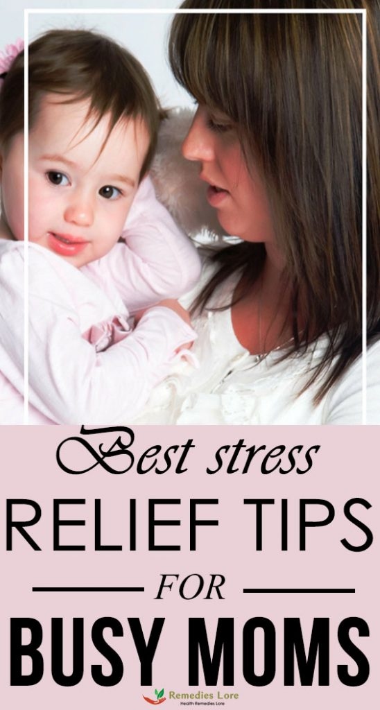 Best stress relief tips for busy moms