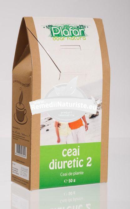 CEAI DIURETIC NR 2 50gr PLAFAR Tratament naturist adjuvant in tratamentul afectiunilor renale afectiuni renale diuretic antiseptic al cailor urinare