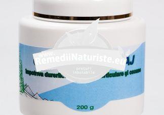 CREMA MASAJ 200gr ABEMAR MED Tratament naturist antiseptica antiinflamatoare calmanta antireumatica