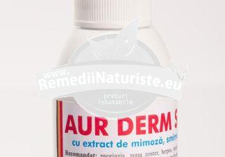 AUR DERM SPRAY MIMOZA ,SMIRNA,PROPOLIS 50ml LAURMED Tratament naturist antiinflamator antiseptic cicatrizant regenerator