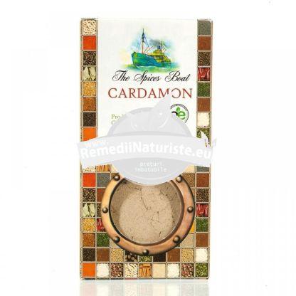 CONDIMENT-CARDAMON MACINAT 40g LONGEVITA Tratament naturist aliment ecologic pentru o dieta sanatoasa cafea dulciuri