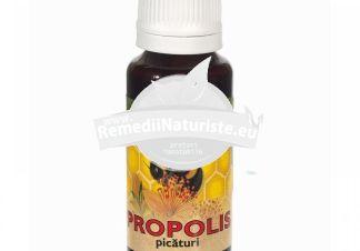PROPOLIS PICATURI 30ml QUANTUM PHARM Tratament naturist guturai gripa dureri de gat cicatrizant