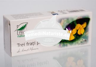 TREI FRATI PATATI 30cps BLISTER MEDICA Tratament naturist antialergic antiacneic creste rezistenta organismului la anumiti alergeni inflamatii gastrointestinale si urigenitale