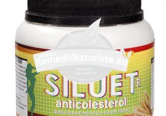 SILUET R 400gr REDIS Tratament naturist produs de slabit cu efect anticolesterol cura de slabire anticancerigen antioxidant
