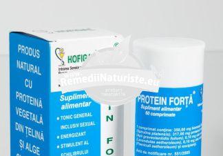 PROTEIN FORTA 60tb HOFIGAL Tratament naturist energizant tonic general dieta echilibrata infectii bacteriene sau virale acute sau cronice