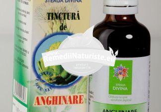 TINCTURA ANGHINARE 50ml SANTO RAPHAEL Tratament naturist dischinezie biliara litiaza renala dischinezie biliara hipotona litiaza biliara