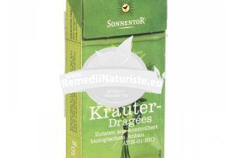 DROPSURI DIN PLANTE MEDICINALE AROMATE BIO 50gr SONNENTOR Tratament naturist dropsuri