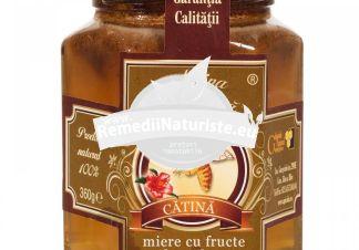 MIERE PULBERE DE CATINA 360gr APICOLA PASTORAL GEORGESCU Tratament naturist vitaminizant ecologica