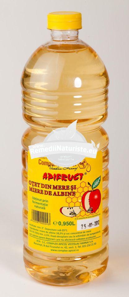 OTET DE MERE CU MIERE 0,950L COMPLEX APICOL Tratament naturist eliminarea toxinelor din organism uz alimentar elimina toxinelor