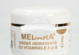 CREMA HIDRATANTA VITAMINA A +E 40gr MEBRA Tratament naturist emolient hidratant vitaminizant emolienta
